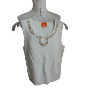 Hearts of Palm Size M knit Keyhole Top